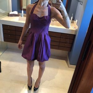 Guess by Marciano purple dress XS